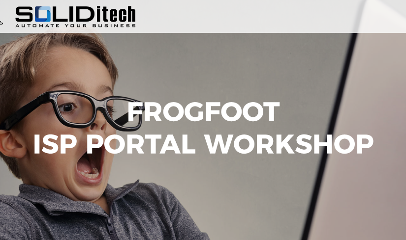 SOLIDitech Hosts Frogfoot ISP Portal Training Workshops