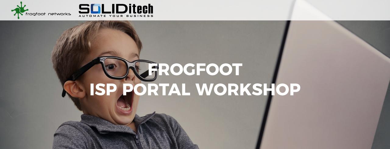 Frogfoot-ISP-Workshops