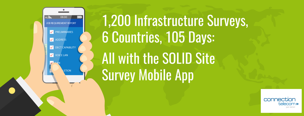 SOLID Mobile App - Site Survey Tool